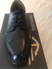 Genuine Leather Cap-toe Lace Men's Dress Shoes By Dockers.