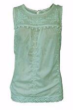 Hip Length Blouse Cotton Tops & Shirts for Women