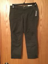 Khaki's By Gap Size 4 Reg New With Tags Womans Glen Olive