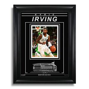 Kyrie Irving Boston Celtics Engraved Framed 8x10 Photo - Action