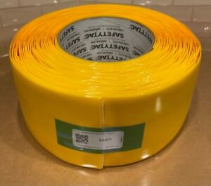 """SafetyTac® 2.0 with Armor Technology Floor Tape 4"""" inch Yellow 50' Foot Roll"""