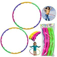 Hula hoop kids exercise fitness plastic weighted hoops kid Indoor Outdoor Play