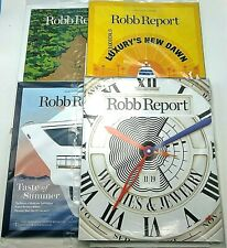 4 Sealed Robb Reports + Host Guide 2019-20 Watches Jewelry Lobby Waiting Room