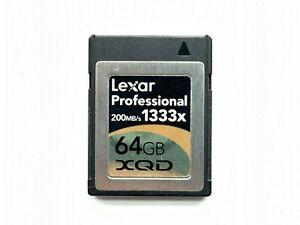 Lexar Professional XQD Memory Card 64GB 200MB/S 1333x