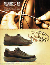 PUBLICITE ADVERTISING 056  2003   Mephisto M  chaussures homme **