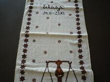 Sternzeichen-Waage Frotte-Handtuch 50 x100 cm NEU