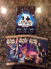 Star Wars Trilogy (DVD,2008,6-Disc,Checkpoint;Sensormatic;WS)Authentic USrelease