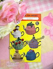 Vintage Knitting Pattern Tea Cosy 6 Novelty styles, Snowman, Hen etc. ONLY 99p!!