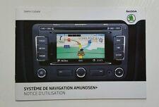 Skoda Systeme de Navigation Amundsen + 11/2011 French //00099