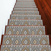 Stair Treads Traditional Collection Contemporary and Soft, Pack of 4/7/13