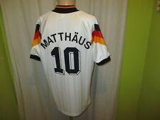 "Deutschland ""DFB"" Nr.1183 Adidas Heim Vize EM Trikot 1992 + Nr.10  Matthäus Gr.L"