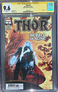 THOR #6 CGC 9.6 Signed By Donny Cates