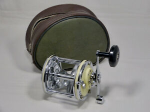 VINTAGE GARCIA MITCHELL CAPTAIN 624 BOAT FISHING MULTIPLIER REEL POUCH FRANCE