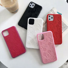 Mickey Minnie Mouse Leather Soft Case Cover For iPhone 11 Pro 7 8 Plus XS XR Max