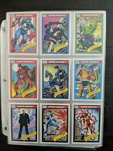 1990 Marvel Universe Series 1 Complete Base Set (1-162)