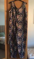 BNWT Laura Ashley Vintage Floral Playsuit Romper Size Medium