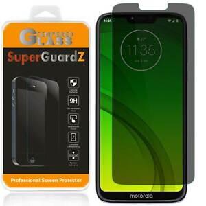 Privacy Anti-Spy Tempered Glass Screen Protector For Motorola Moto G7 Supra