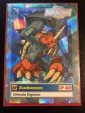Zudomon Digimon Card Animated Series II Super Rare