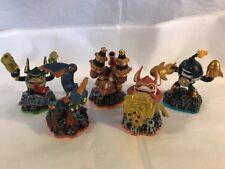 Lot of 5 Skylanders TECH Action Figures w Drill Sargent, Trigger Happy & Drobot
