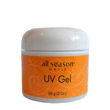 All Season UV Nail Gel THICK CLEAR 2 oz/ 56 g