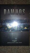 Warhammer 40k Apocalypse War Zone - Damnos Hardcover New Sealed Book