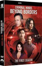 CRIMINAL MINDS: BEYOND BORDERS 1 (2016): FBI Drama TV Season Series - NEW R1 DVD