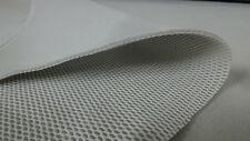 % HELLGRAU ABSTANDSGEWIRKE 3D NETZ 3MM DICK METERWARE STOFF STOFFE |CIG7