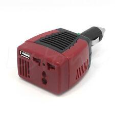 NEW HOT Car DC 12V to AC 220V 75W Power Inverter Adapter USB 5V
