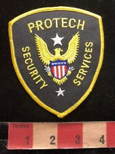 PROTECH SECURITY SERVICES Police / Security Type Patch 85I4
