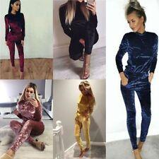 Velvet Tracksuits & Hoodies for Women