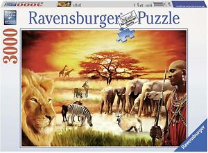 Ravensburger Proud Maasai Jigsaw Puzzle 3000 pieces MDRB17056 from Tates Toyw...