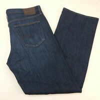 NWT AG Adriano Goldschmied The Hero Denim Jeans Mens 40X34 Blue Relaxed Fit Wash