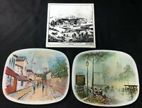 Impressionist City Scenes Tins American Winter Scene Morning Currier & Ives