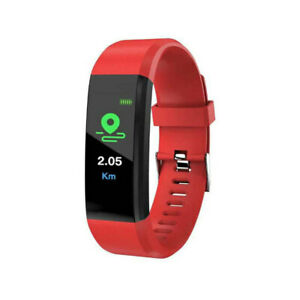 Smart Watch Band Sport Fitness Activity Tracker Kids Fit For Bit iOS Android