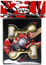EVH Strap Clasps w/ Eye Hooks - NEW Official Eddie Van Halen Guitar Frankenstrat