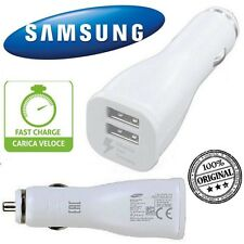SAMSUNG CaricaBatterie Auto EP-LN920W FAST CHARGER BIANCO PER GALAXY