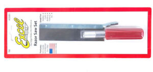 RAZOR SAW SET  EXCEL #55001   SUPERFINE  BLADE 46 tpi