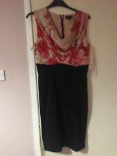 Red Black Dress Size 4 Uk 14 Ted Baker