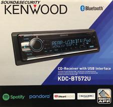 Kenwood KDC-BT572U 1-DIN AM/FM CD Player Receiver w/ Bluetooth & SeriusXm ready