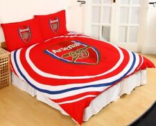 ARSENAL FC impulsion double réversible Ensemble de Housse de couette lit