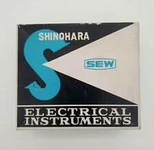 Shinohara SEW Model PE-70 DC 50uA Panel Meter  New Old Stock Japan Vintage audio