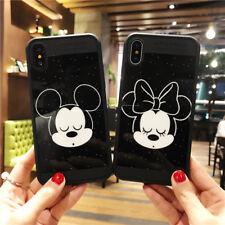 Fundas Mickey Minnie Blanco y Negro Disney Iphone X,6/6S, 6+/6S+ ,7/7+ ,8 /8+