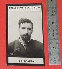 PHOTO IMAGE FELIX POTIN 1er ALBUM 1885 SAVORGNAN DE BRAZZA EXPLORATEUR CONGO