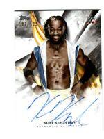 WWE Kofi Kingston 2019 Topps Undisputed On Card Autograph SN 181 of 199