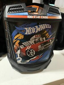 2014 TARA Hot Wheels Rolling Car Case w/ Retractable Handle Holds 100 cars~ NICE