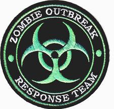 ZOMBIE OUTBREAK RESPONSE TEAM-PATCH-BIOHAZARD-US TACTICAL-SWAT-COMBAT