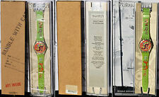 SWATCH ARTIST'S COLLECTION limited edition GK270 STILETTO by CISCO JIMENEZ NUOVO