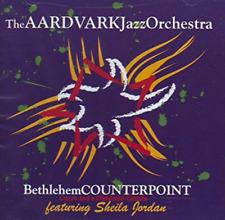 """New! AARDVARK JAZZ ORCHESTRA """"Bethlehem Counterpoint"""" CD Sheila Jordan Christmas"""