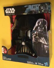 Darth Vader Voice Changer Helmet Mask STAR WARS Rogue 1 HASBRO New In Box 2016