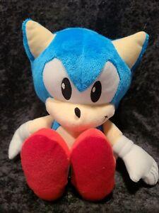 "Sonic the Hedgehog TOMY Plush Doll Stuffed Animal Toy 12"" Authentic SEGA"